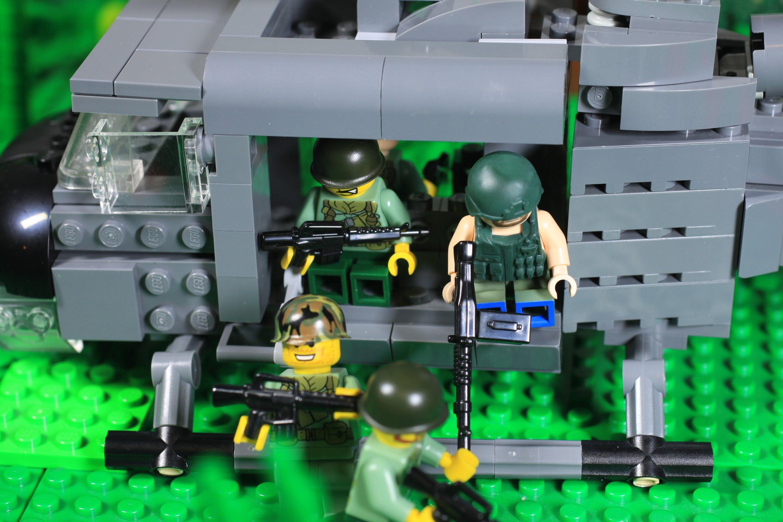 Behind the scenes footage of Lego Movie: Vietnam, sadly