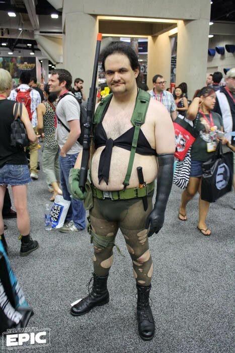 Big ass cosplay