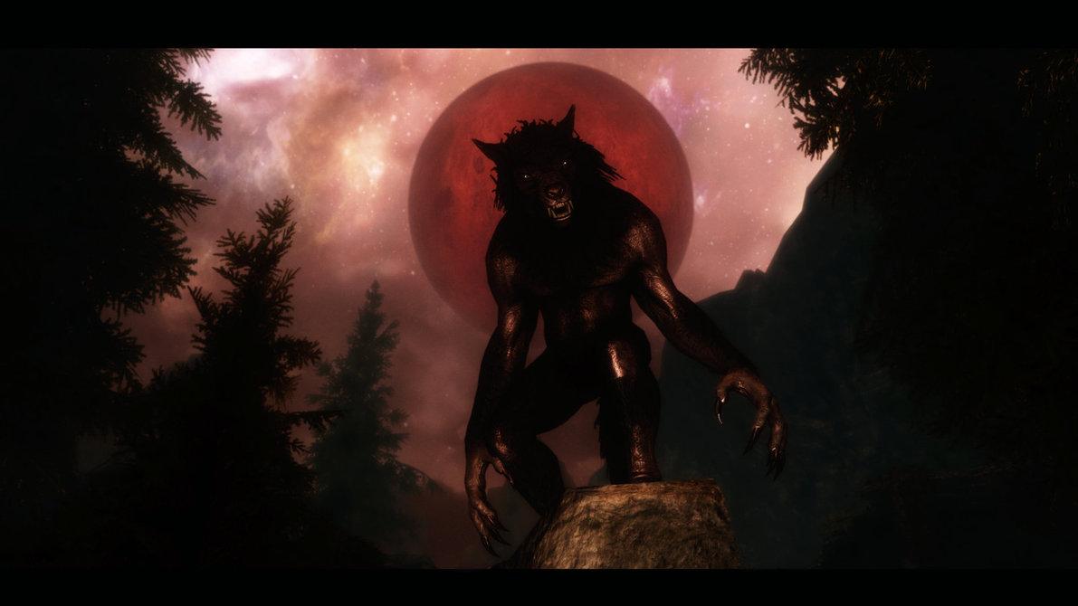 skyrim blood moon