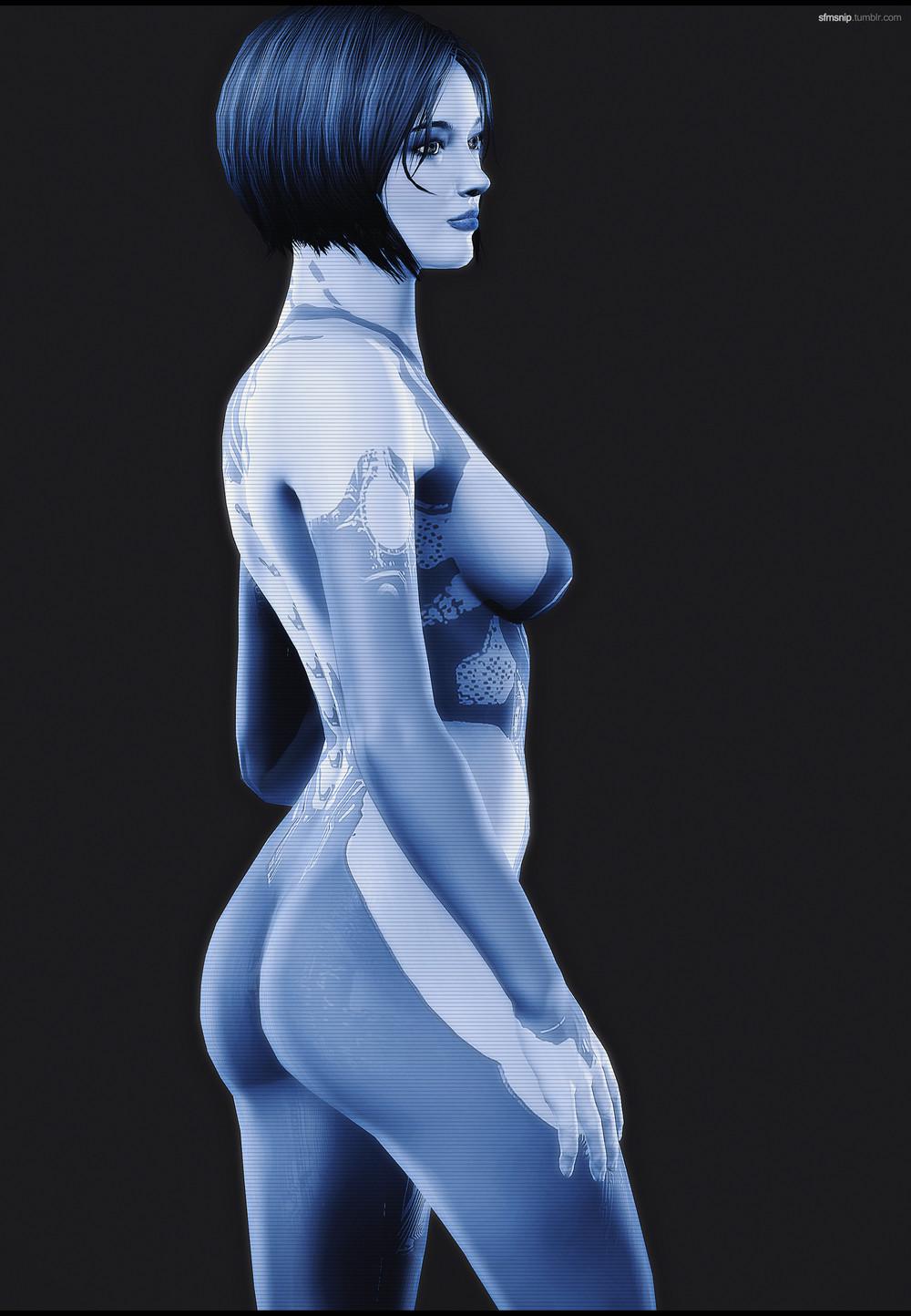 Bs Angel As Cortana By Artistpavel On Deviantart