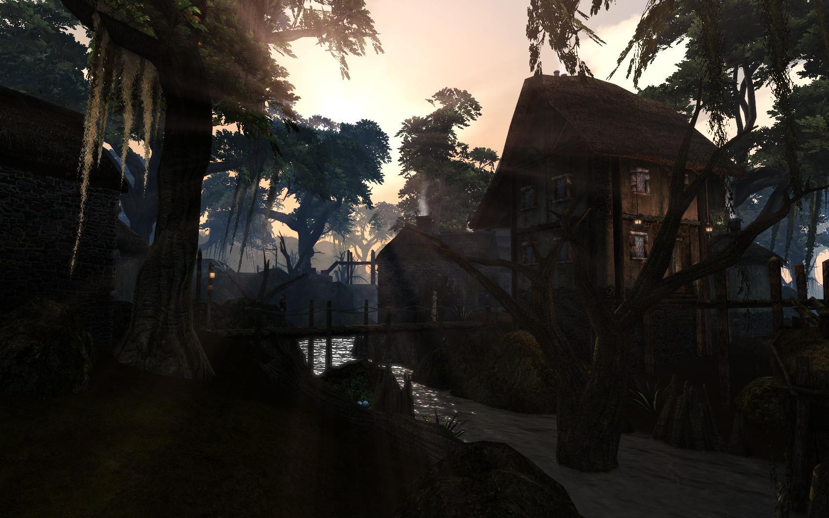 It's Sayda Neen with the Morrowind graphics overhaul  - #133574212