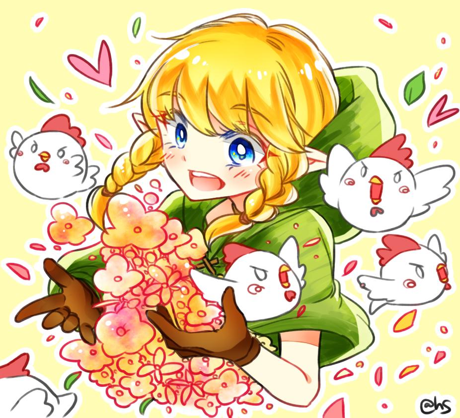 Zelda is a girl now!